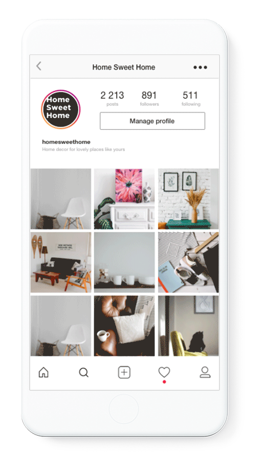 Instagram store with Ecwid